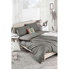 Set bavlněného povlečení na dvoulůžko s prostěradlem Nerja, 200 x 220 cm Double Quilt, Quilt Cover Sets, Comforters, Blanket, Bed, Furniture, Home Decor, Creature Comforts, Quilts