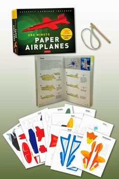 One Minute Paper Airplanes Giveaway! Ends 7/31 #RWMevent