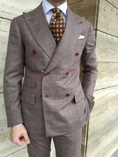 Classic Fashion Looks, Gents Suits, Suit Combinations, Designer Suits For Men, Suit Shirts, Mens Fashion Suits, Suit And Tie, Well Dressed Men, Dress Suits