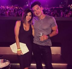 """Courtney Lopez with our """"Nyx"""" clutch at """"pieces of me"""" in Las Vegas."""