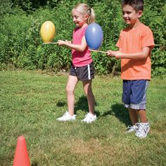 Plan your Field Day with these fun and challenging activities! Great for teaching students how to work together as a team.