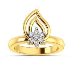 Simona Diamond Ring #ShapesCollection #JewelCountry