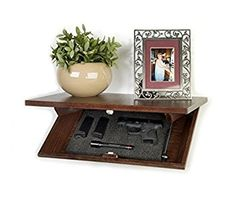 Amazon.com: Covert Cabinets Gun Storage Shelves (HG-24): Kitchen & Dining
