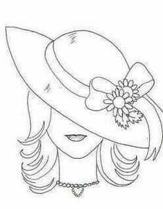 Ideas embroidery riscos rosas for 2019 Embroidery Stitches, Hand Embroidery, Embroidery Designs, Colouring Pages, Coloring Books, Quilling Designs, Pencil Art Drawings, Stained Glass Patterns, Applique Patterns
