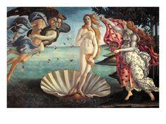 El Nacimiento de Venus. Botticelli. Posee propiedades estéticas positivas, tales como ser bella. Pertenezca a una forma artística establecida (Pintura). Es formalmente compleja y coherente.