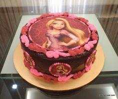 Rapunzel Photo Cake
