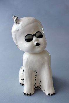 Jo Lee Ceramics - BabyDogs Large Burslem 1B