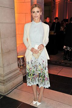 In Bloom: The Best Floral Frocks - Laura Bailey