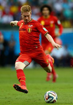 Kevin de Bruyne of Belgium in the 2014 World Cup