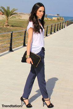A la calle en pijama - StreetStyle - Moda Primavera Verano 2012 - Lo último en tendencias, glamour y celebrities - ELLE.ES