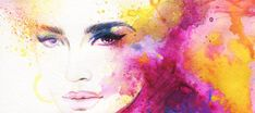 Find Beautiful Woman Face Abstract Fashion Watercolor stock images in HD and millions of other royalty-free stock photos, illustrations and vectors in the Shutterstock collection. Thousands of new, high-quality pictures added every day. Salon Art, Watercolor Fashion, Watercolor Portraits, Watercolor Ideas, Fabric Wall Art, Female Portrait, Woman Portrait, Woman Face, Watercolor Illustration