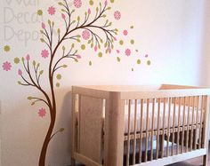 | Wall Decal Nursery Decal Maple Autumn Tree Wall by WallDecalDepot