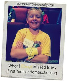 What I Almost Missed In My First Year of Homeschooling | This explains exactly why I want to homeschool. In my heart, I want my kids to enjoy being young and I want to be there with them. LH