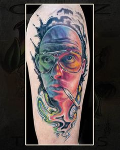 Fear and Loathing in Las Vegas tattoo ~A.R.