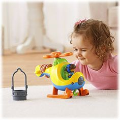 Little People® Spin 'n Fly Helicopter™ | BrandsLittlePeople | Fisher Price