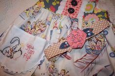 Head wrap by Lulu & Co.  Dress by TaDa! Creations