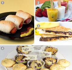 receitas para o dia das criancas Receitas para um delicioso dia das crianças!