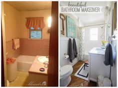 Gorgeous Bathroom Renovation Before/After - MyBlessedNest.net