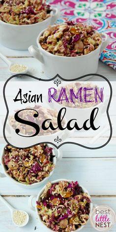 Amazin' Asian Ramen Salad Recipe