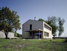Rheinhof - Wohnhaus , Fotograph Bruno Klomfar