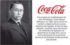 #Logotipos famosos y sus creadores Coca Cola, Insight, Branding, Fictional Characters, Digital, Logos, Famous Logos, Cursive, Writing