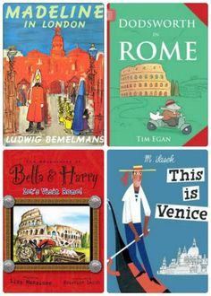 Turn story time into world travel with these awesome kids book series!