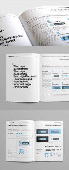 Brand Manual Brand manual, Corporate brochure and Brochures - operating manual template