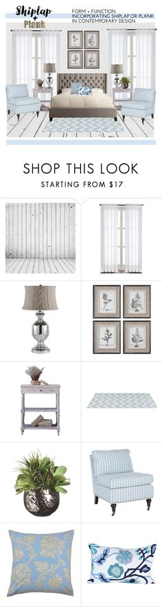 """""""Blue Dream"""" by mountainalive ❤ liked on Polyvore featuring interior, interiors, interior design, home, home decor, interior decorating, WALL, Aidan Gray, Uttermost and Jill Rosenwald"""