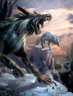 Werewolves? Helhounds? I love them both so it doesn't matter :)