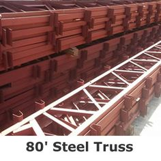 Steel Truss – Quality Steel Trusses from Bestbuildingkit Steel Trusses, Roof Trusses, Building A Pole Barn, Building A House, Building Homes, Container Shop, Metal Buildings, Steel Structure, Building Materials