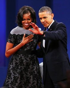 President and First Lady #Obama #Love!