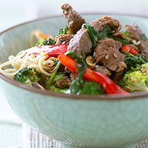 Weight Watchers Beef and Ginger Stir Fry With Noodles Recipe - 11 ProPoints | WeightWatchers.co.uk