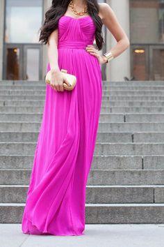 Pink Summer Maxi Dress