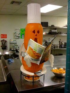 How pumpkin pies are made  =-)