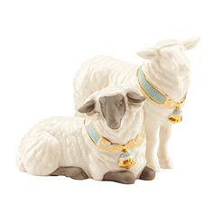 Lenox First Blessing Nativity Pair of Sheep Lenox http://www.amazon.com/dp/B00JP1Z6OA/ref=cm_sw_r_pi_dp_ux4Wwb0F7CNT4