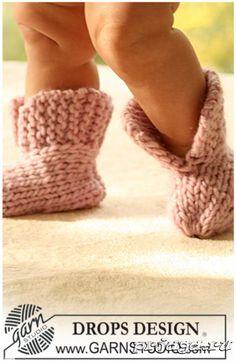 Вязание для малышей пинетки спицами