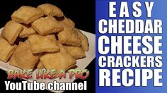 Easy Cheddar Cheese Crackers Recipe: DIRCT LINK: https://youtu.be/ZnxCVw0JP6A
