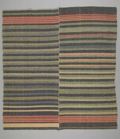 Hand woven bedspread Eastern townships Canada, 1800-1899