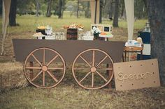 dessert table, candy table, cowboy indians party