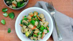 Gnocchi allacqua con verdure croccanti