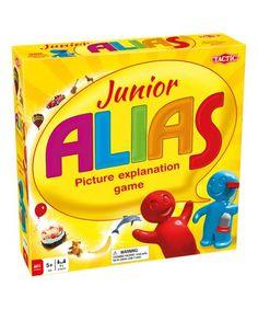 Another great find on #zulily! Junior Alias Game #zulilyfinds