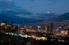 Medellín, Colombia from Cerro Nutibara