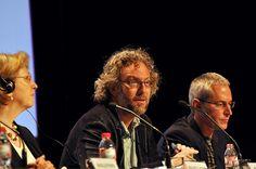 """Fundación Triodos - Miguel Jara, Fundación Alborada, durante su intervención sobre la """"Contaminación del alimento y su impacto en la salud""""."""