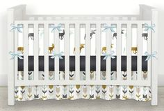 Multi Woodland Deer    Crib and Toddler by OrangeBlossom805