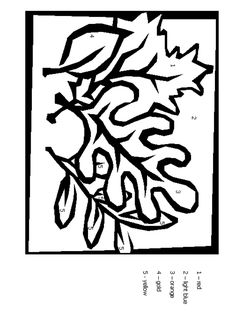 Leaves Cbn Coloring Pages