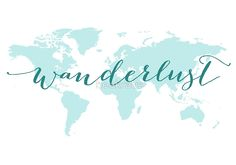 5x7 or 85x11 to travel is to live watercolor map print wanderlust teal world map print available as art prints posters stickers gumiabroncs Images