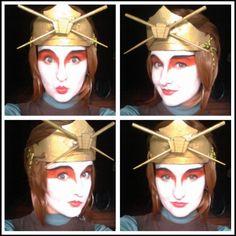 My Kyoshi Suki cosplay :) from Avatar: the Last Airbender