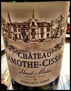 El Alma del Vino.: Domaines Fabre Château Lamothe-Cissac 2012.