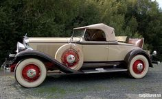1931 Studebaker President Four Seasons Roadster
