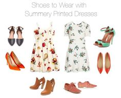 Summery Printed Dresses   How She'd Wear It with Style and Cheek